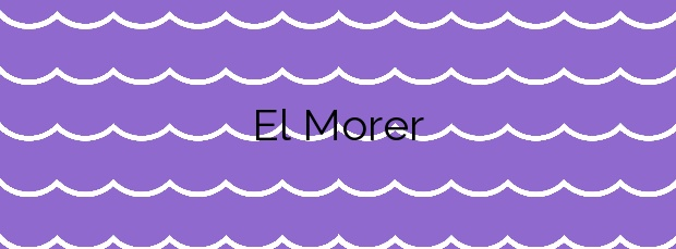 Información de la Playa El Morer en Llançà