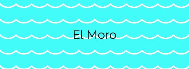 Información de la Playa El Moro en La Oliva