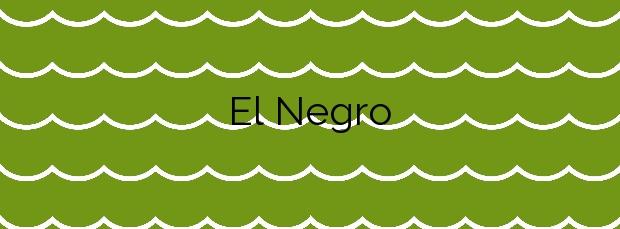 Información de la Playa El Negro en Manilva