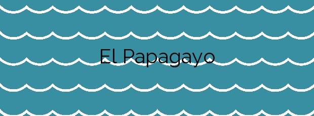 Información de la Playa El Papagayo en Yaiza