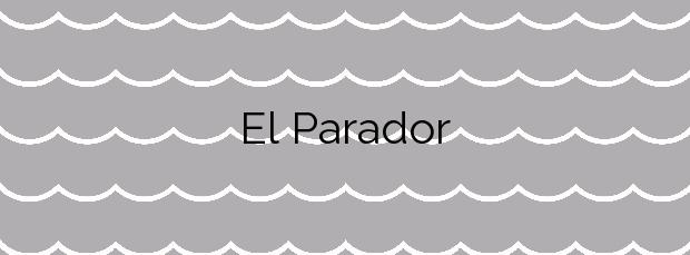 Información de la Playa El Parador en Moguer