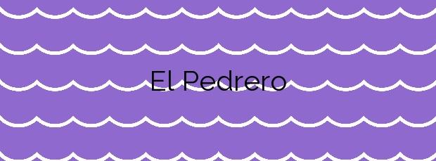 Información de la Playa El Pedrero en Val de San Vicente