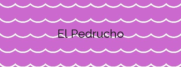 Información de la Playa El Pedrucho en San Javier