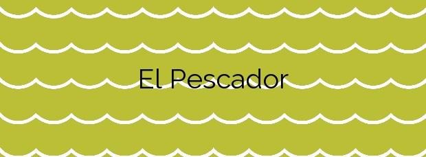 Información de la Playa El Pescador en San Javier