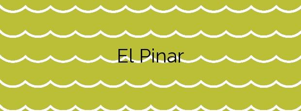 Información de la Playa El Pinar en Castellón de la Plana
