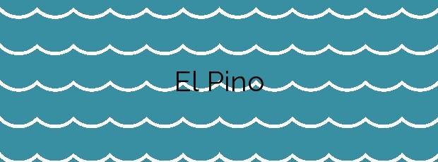 Información de la Playa El Pino en Águilas