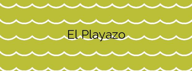Información de la Playa El Playazo en Vera