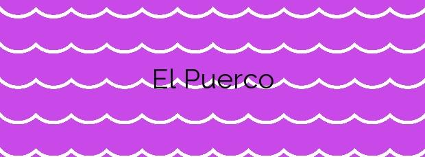 Información de la Playa El Puerco en Chiclana de la Frontera