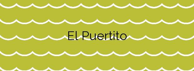 Información de la Playa El Puertito en Fuencaliente de la Palma