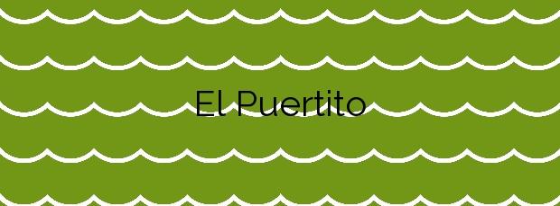 Información de la Playa El Puertito en Güímar