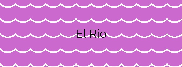 Información de la Playa El Río en Fuencaliente de la Palma