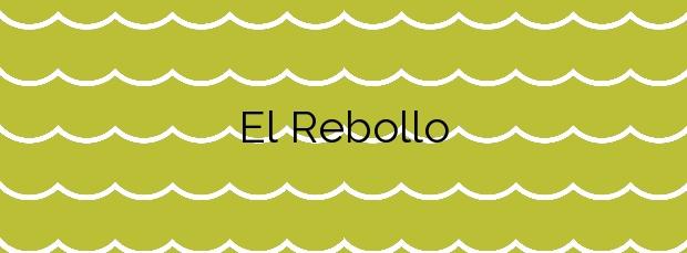 Información de la Playa El Rebollo en Elche