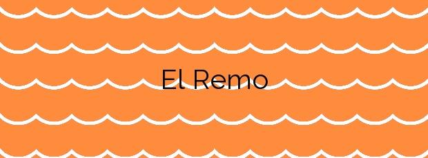 Información de la Playa El Remo en Los Llanos de Aridane