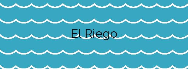Información de la Playa El Riego en Cudillero