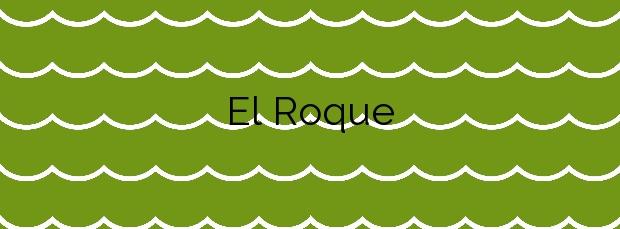 Información de la Playa El Roque en Moya