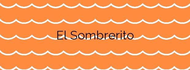 Información de la Playa El Sombrerito en Arico