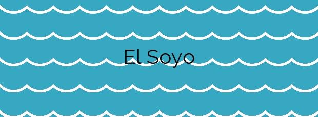Información de la Playa El Soyo en Altea
