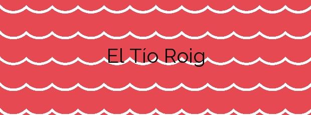 Información de la Playa El Tío Roig en Villajoyosa