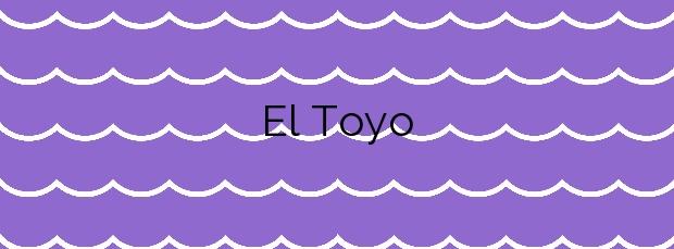 Información de la Playa El Toyo en Almería