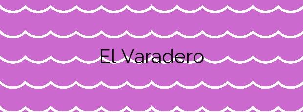 Información de la Playa El Varadero en San Andrés y Sauces