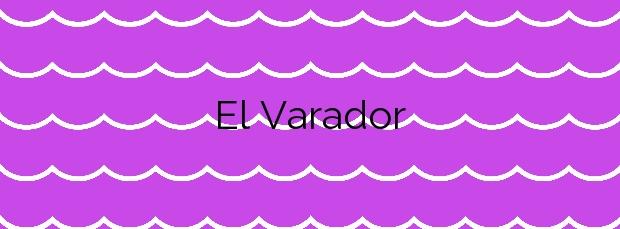 Información de la Playa El Varador en Mataró