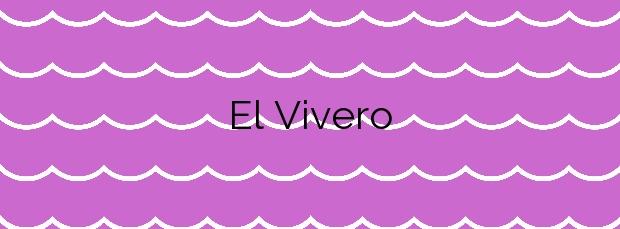 Información de la Playa El Vivero en Cartagena