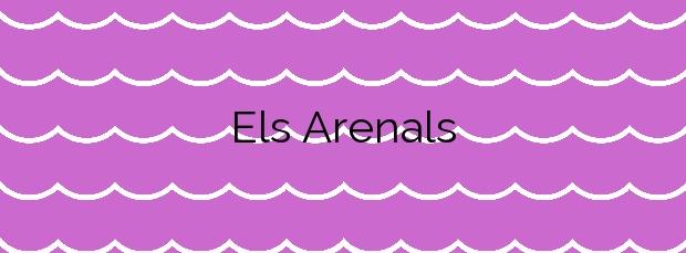 Información de la Playa Els Arenals en Formentera