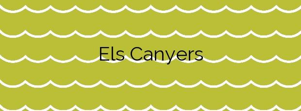 Información de la Playa Els Canyers en Palafrugell