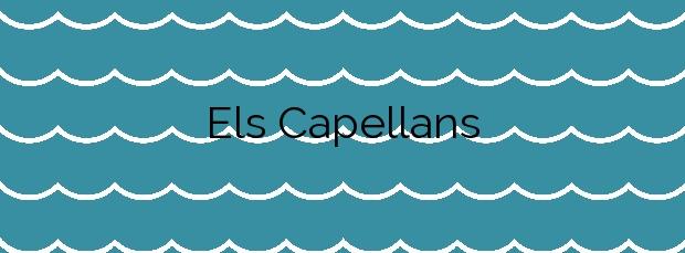 Información de la Playa Els Capellans en Blanes