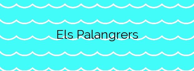 Información de la Playa Els Palangrers en Roses