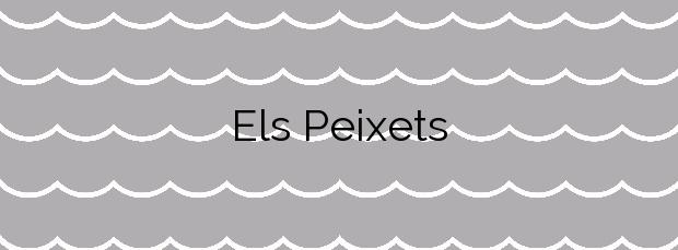 Información de la Playa Els Peixets en Alboraya
