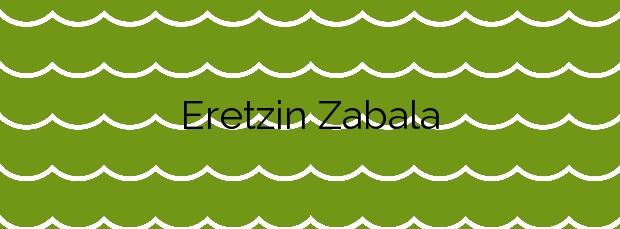 Información de la Playa Eretzin Zabala en Hondarribia