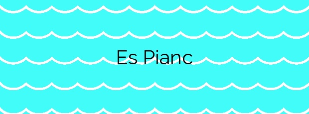 Información de la Playa Es Pianc en Cadaqués