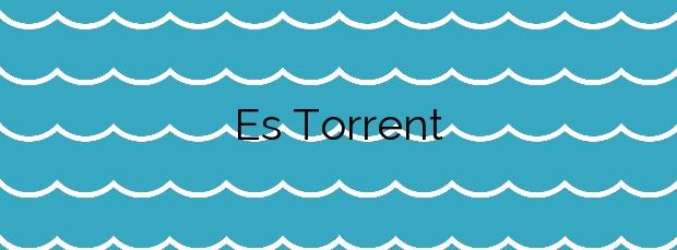 Información de la Playa Es Torrent en Sant Josep de sa Talaia