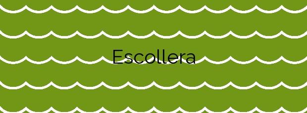 Información de la Playa Escollera en Cullera