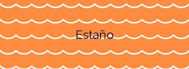 Información de la Playa Estaño en Gijón