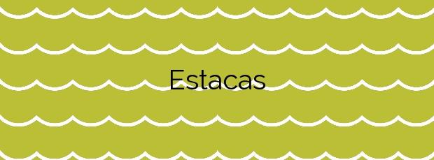 Información de la Playa Estacas en Ares