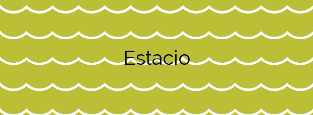 Información de la Playa Estacio en San Javier