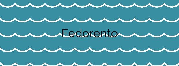 Información de la Playa Fedorento en Bueu