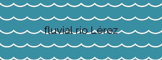 Información de la Playa fluvial río Lérez en Pontevedra