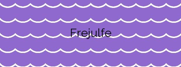 Información de la Playa Frejulfe en Navia