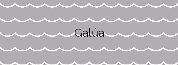 Información de la Playa Galúa en Cartagena