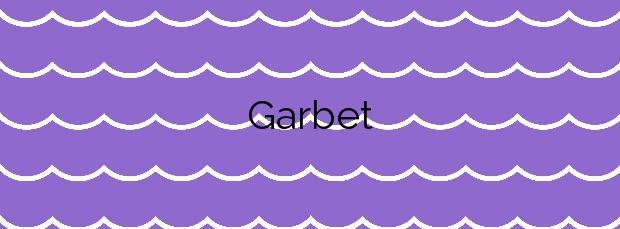 Información de la Playa Garbet en Colera