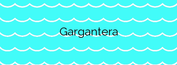 Información de la Playa Gargantera en Gozón