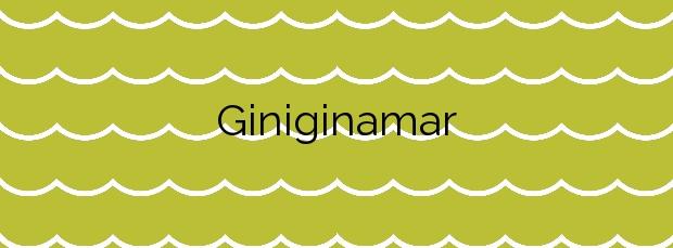 Información de la Playa Giniginamar en Tuineje