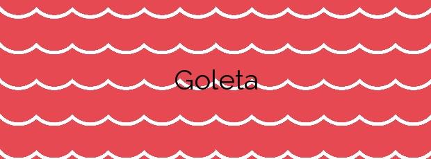 Información de la Playa Goleta en Tavernes de la Valldigna
