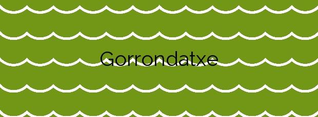 Información de la Playa Gorrondatxe  en Getxo