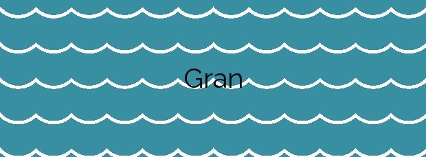 Información de la Playa Gran en Es Mercadal
