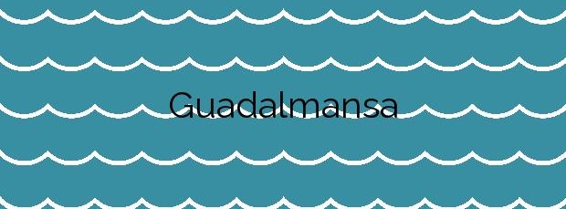 Información de la Playa Guadalmansa en Estepona
