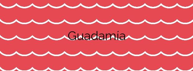 Información de la Playa Guadamía en Llanes